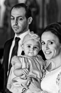Taufe Fotograf - Mutter und Kind bei der Taufe in der griechisch orthodoxen Kirche in Esslingen